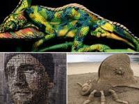 Kompilacja niesamowitych umiejętności artystycznych ludzi