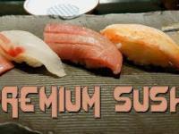 Najlepsze sushi w Tokio: Premium sushi za 34000 JPN (~1000 PLN)