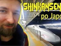 Ekspresowy pociąg w Japonii (300km/h)