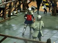 Nieoczekiwany przebieg walki na turnieju rycerskim