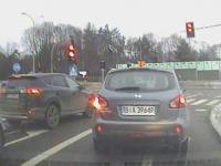 Niebezpieczna sytuacja podczas egzaminu na prawo jazdy w Białymstoku