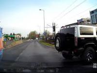 Wypadek Kraków - bo to za długa limuzyna była