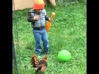 Zwierzęta kontra dzieci