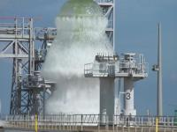 Test instalacji wodnej w kompleksie startowym 39B