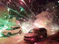 A jak przywitać nowy rok fajerwerkami to w efektowny sposób