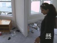 Studenci z wymiany międzynarodowej demolują dom