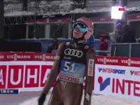 Dawid Kubacki - 138 m - 05.01.2017 Bischofshofen (kwalifikacje)