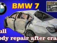 Mistrz blacharki ożywia BMW 7
