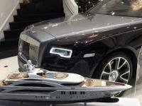 MOSKWA i jej luksusowe auta
