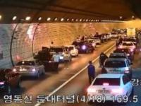 Tak kierowcy w Południowej Korei reagują na uliczny wypadek