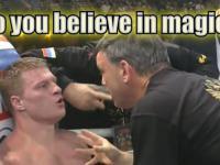 Mistrz motywacji z bokserskiego narożnika.
