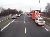 Prawidłowa reakcja kierowców. Brawo!