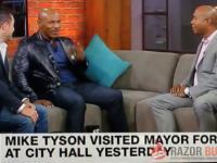Mike Tyson jedzie po dziennikarzu