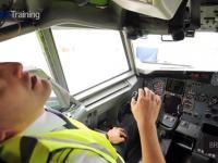 Boeing 737 300/500 ewakuacja pilota