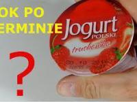 Jogurt PRZETERMINOWANY O ROK - Jak wygląda?