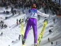 Jakub Janda - 68 m - Planica 1999 - Antyrekord świata!!