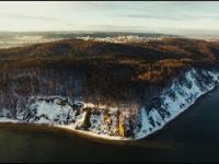 Gdynia i piękno okolic na filmie widziane z lotu ptaka