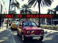 Fiat 126p VS Rolls-Royce Phantom w Beverly Hills