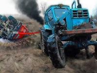 Off-road, północ i potężne samochody, które utknęły w błocie. USA, Rosja, Skandynawia