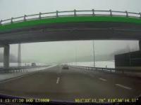 Groźny wypadek na autostradzie A1