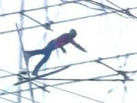 Czeski film w Harrachovie podczas skoków narciarskich