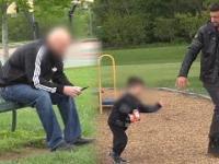 Gość porywa dziecko tuż przed jego tatą - na szczęście to tylko eksperyment, ku przestrodze!