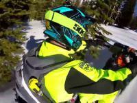 Snow-bike czyli motocross na śniegu