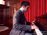 Super Mario Bros na fortepianie