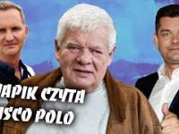 Tomasz Knapik czyta teksty disco polo