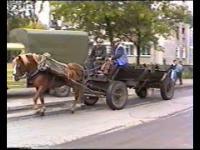 Warszawa, rok 1993. Nagranie VHS