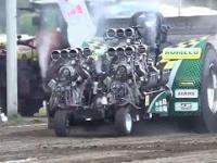Wypadki na zawodach potężnych ciągników