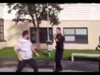 Policja szwedzka vs amerykańska