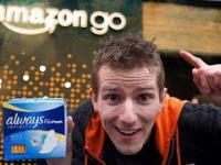 Bezobsługowy sklep firmy Amazon