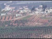 Kurdowie rozwalają turecki czołg w Afrin