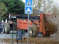 Protesty francuskich rolnikow sprzed kilku lat