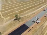 Budowa drógi w Australii!
