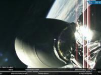 Udany start rakiety Falcon Heavy
