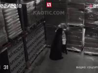 Kontrola na magazynie w Rosji