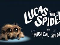 Mały słodziutki pajączek - Lukas, chce zostać gwiazdą muzyki!