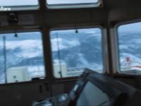 Ogromne fale na Morzu Północnym