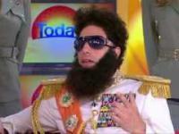 Dyktator Generał Aladeen w telewizji śniadaniowej. Co może pójść źle?