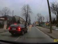 Cwaniak na skrzyżowaniu Radomsko