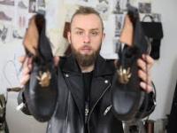 Człowiek, który szyje buty dla odważnych