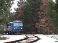 Wjazd pociągu wojskowego na bocznicę