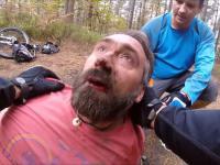 Wypadek na rowerze i wzorowa postawa świadków