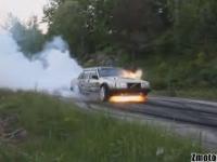 Nieudane Palenie Gumy - Epic Burnout Fails!