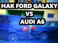 Mistrzyni parkowania - Audi A6 vs Hak Ford Galaxy