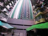 Wyścigowy dron w Hong Kongu