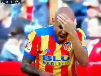 Liga hiszpańska - Zaza pokazuje jak nie należy tego robić