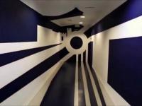 Złudzenie optyczne w tunelu Malagi
